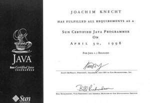 Java Zertifizierung