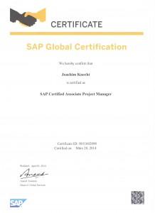 Urkunde_Zertifizierung_SAP_Project_Manager