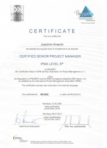 CERTIFICATE - GPM Senior Project Manager